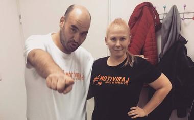 Maja Cimermančič in Aleš Hrvatin vabita Slovence in Slovenke, da se jima pridružijo v skupini #aktivirajse!