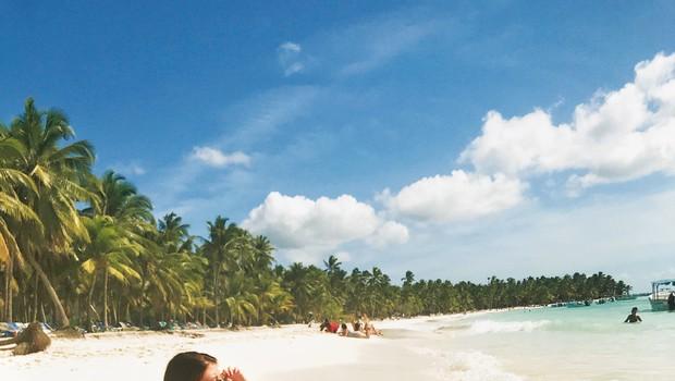 Nina Donelli brezskrbno uživala v Dominikanski republiki (foto: Osebni arhiv)