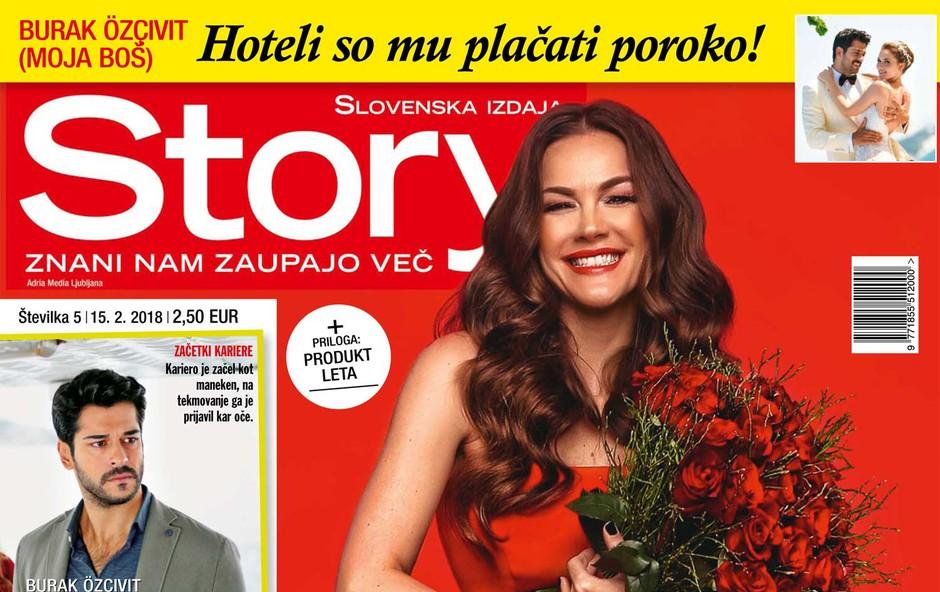 Rebeka Dremelj: 19 let ljubezni! Več v novi Story! (foto: Story)