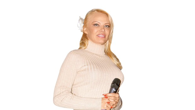 Pamela Anderson je bolj umirjena, a še nosi seksi perilo! (foto: Profimedia)