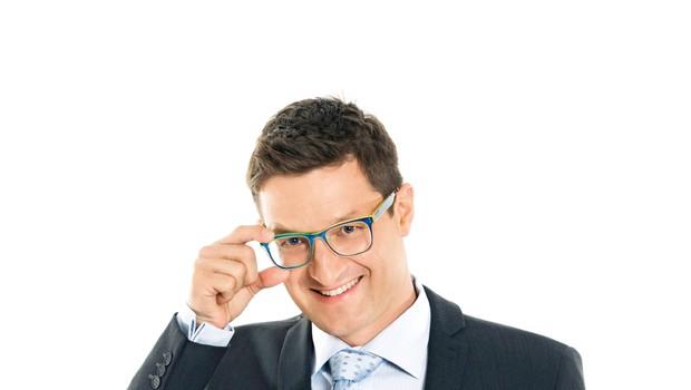 TV-voditelj Saša Jerković se sprošča za štedilnikom (foto: Žiga Culiberg)