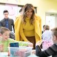 Melania Trump na valentinovo obiskala bolne otroke