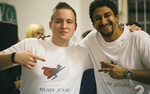 Prvič v Sloveniji! Iniciativa Mladi junaki - program za mlade nadarjene posameznike iz depriviligiranega okolja!