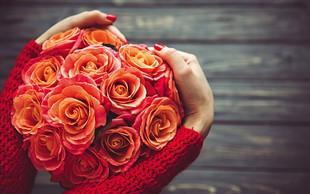 Valentinovo - praznik, odet v rože
