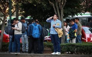 Mehiko stresel potres z močjo 7,2!