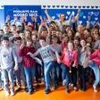 Rok Perko otrokom prinesel zimski olimpijski duh