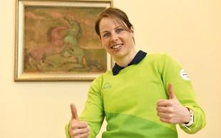 Vesna Fabjan: Med pripravami je vsak trening motivacija!