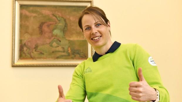 Vesna Fabjan: Med pripravami je vsak trening motivacija! (foto: Igor Zaplatil)