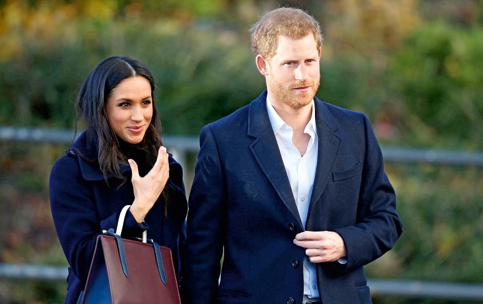 Poroko princa Harryja in Meghan Markle bodo prenašali v živo (foto: Profimedia)
