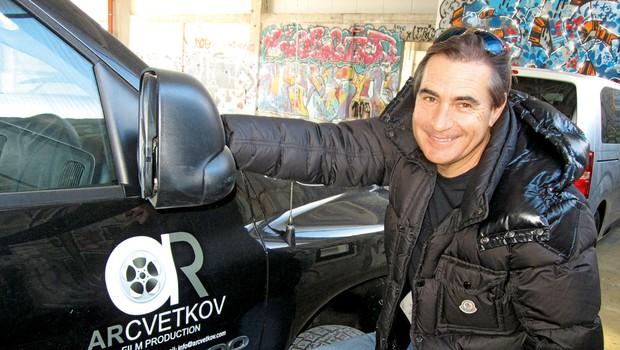 Rok Cvetkov, kaskader: Na nevarne prizore se je vedno profesionalno pripravil (foto: Alpe)