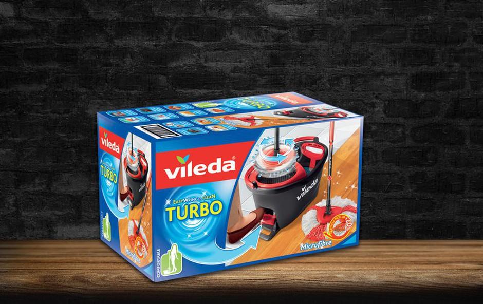 Vileda Turbo mop med zmagovalci Produkta leta 2018! (foto: Promocijski material)