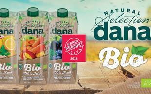 BIO 100 % sokovi Dana Natural Selection – skrbno izbrani okusi za vsak del dneva