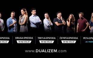 Skoraj 150.000 ogledov za spletno serijo Dualizem