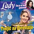 Lea Sirk razdelila Slovenijo: Tretjič na Evrovizijo. Več v novi Lady!