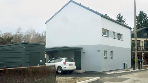Jonas Žnidaršič si je zgradil novo hišo! (foto: Goran Antley)
