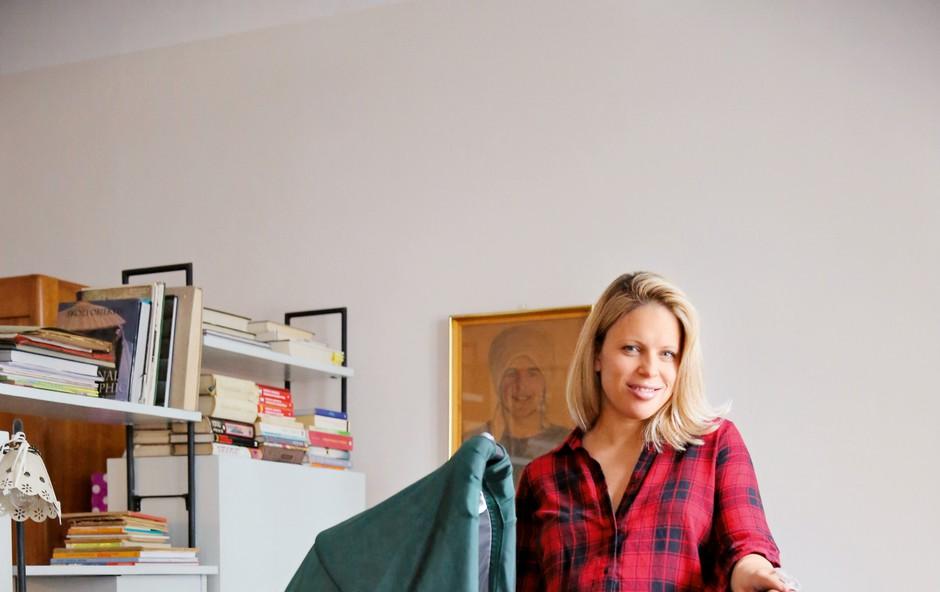 Maja Plešnar (Stević) se veseli materinskih izzivov (foto: Helena Kermelj)