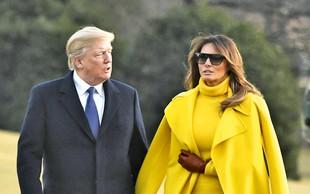 Donald in Melania Trump: Je njun zakon res v krizi?!
