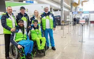 Jernej Slivnik odpotoval na paraolimpijske igre