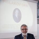 Predsednik Strokovnega združenja profesionalnih čebelarjev Boris Seražin o glavnih problemih v slovenskem čebelarstvu. (foto: Tina Ramujkić)