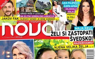 Ekskluzivno: Ranko Babič že drugič očka! Več v novi Novi!
