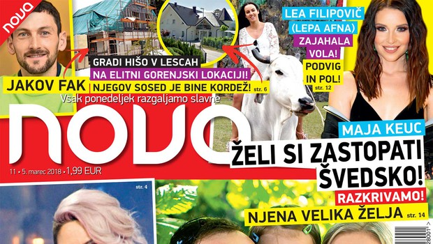 Ekskluzivno: Ranko Babič že drugič očka! Več v novi Novi! (foto: Nova)