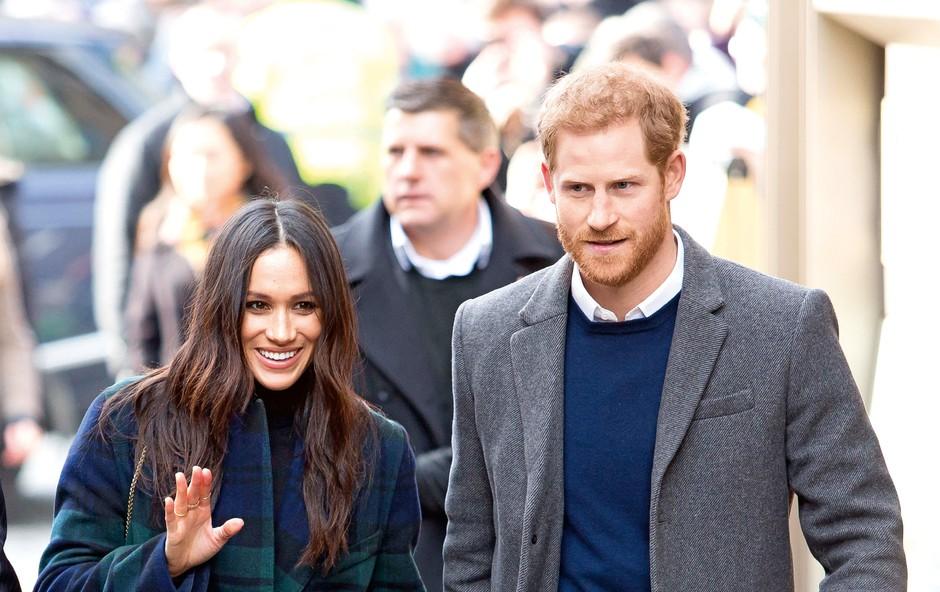 Princ Harry in Meghan prevzemata protokolarne obveznosti (foto: Profimedia)