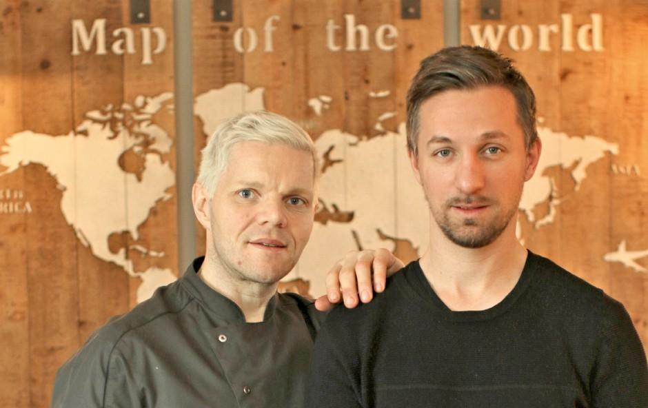Luka Simšič (vizažist) na izobraževanje k svetovno priznanem mojstru kuhanja (foto: Goran Antley)