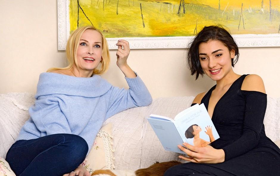 Tanja Ribič in hčerka Zala: Najin odnos je izjemno intenziven (foto: Primož Predalič)