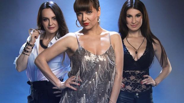 Jasna, Oriana in Kataya bodo komentirale nastope kandidatov v Novi zvezdi Slovenije (foto: Planet Tv)