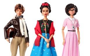 Nove barbike s podobo deskarke Chloe Kim in Fride Kahlo