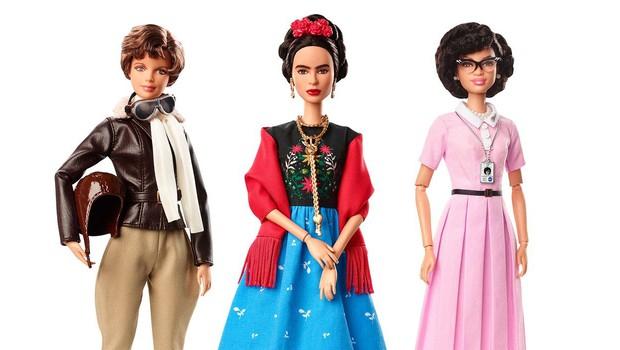 Nove barbike s podobo deskarke Chloe Kim in Fride Kahlo (foto: profimedia)