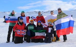 Skupina avanturistk z odpravo na severni pol nad stereotipe
