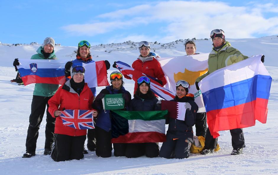 Skupina avanturistk z odpravo na severni pol nad stereotipe (foto: Kaspersky Lab Press)