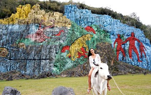 Lea Filipovič (Lepa Afna) in njena avantura na Kubi