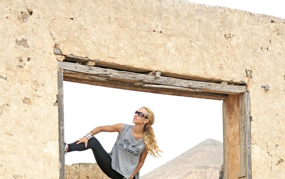 Natka Geržina je obsedena s potovanji! (foto: Osebni arhiv)