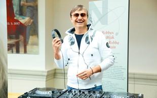 DJ Pero tudi zvečer ne zdrži brez glasbe