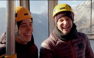 Na Veliki planini postavili najbolj noro gugalnico na svetu