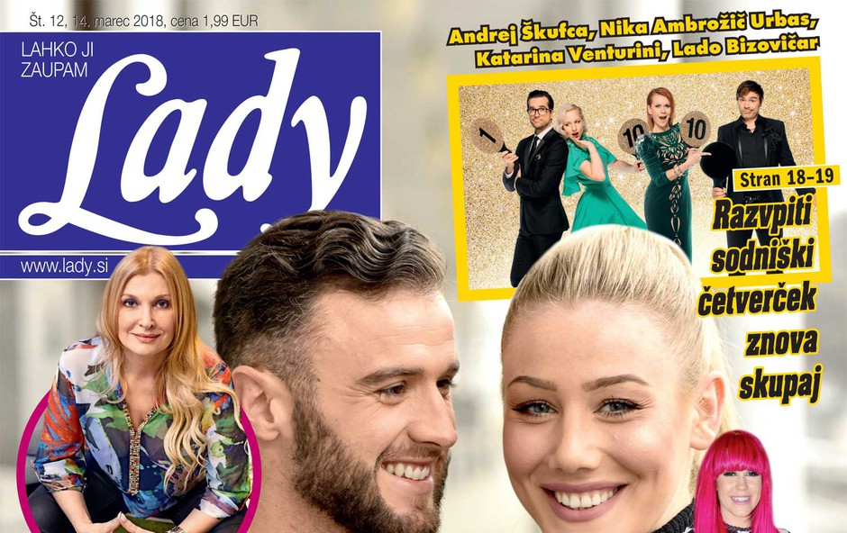 Indira Ekić (The Biggest Loser) potrdila govorice: Ljubi znanega trenerja! Več v novi Lady! (foto: Lady)
