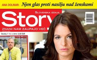 Ana Dolinar prvič spregovorila o spolnem nadlegovanju! Več v novi Story!