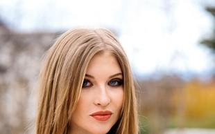 Miss Maja Zupan: Prvič v poročno obleko