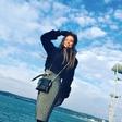 Tara Zupančič uživala na morju