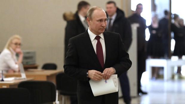 Vladimir Putin na volitvah za ruskega predsednika potrdil svoj četrti mandat! (foto: profimedia)