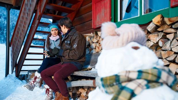Serija Gorske sanje: Ekipa na snemanju od jutra do večera (foto: Planet TV)