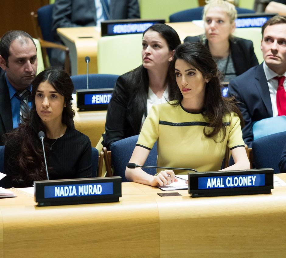 Resnična zgodba Nadije Murad: od sirote in sužnje do nominiranke za Nobelovo nagrado! (foto: profimedia)