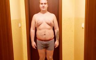 Matic Kos včeraj odšel iz šova The Biggest Loser Slovenija, danes že v telovadnici