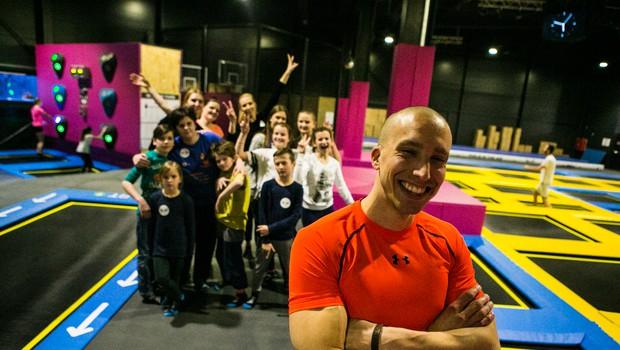 Filip Kržišnik mladim sporoča: »Ne ustavi se pri vsaki oviri« (foto: Whoop)