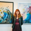 Veronika Macarol: Jadralka v vlogi slikarke