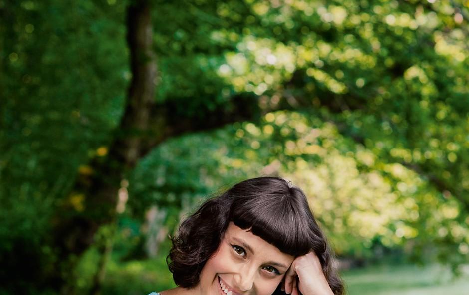 Anja Drnovšek - igralka, ki je želela postati veterinarka (foto: Pop TV)
