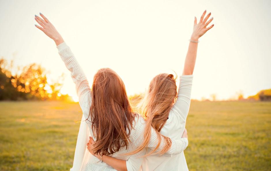 Knjiga Elene Ferrante Genijalna prijateljica: O pasteh ženskega prijateljstva (foto: Shutterstock)