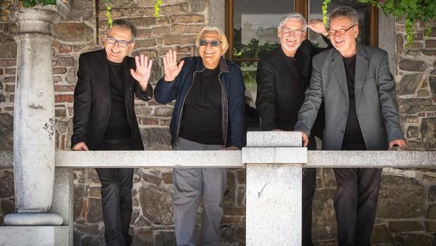 New Swing Quartet in Oto Pestner - dvojnih 50 let legendarnih slovenskih izvajalcev še v Križankah! (foto: Gorazd Karer)
